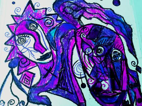 Le Violet d'un cri