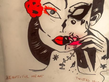 Beautiful heart - twisted mind