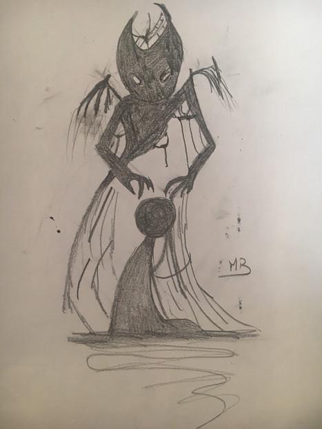 La maladie ce monstre
