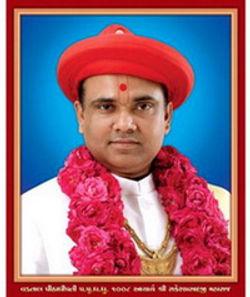 1008 Acharyamaharaj Shree Rakeshprasadji Maharaj