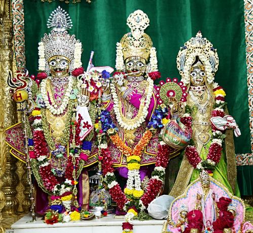 Shree Harikrishna Maharaj, Shree Radha Krishna Dev