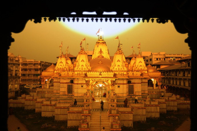 Golden Temple, Shree Vadtal Dham, India