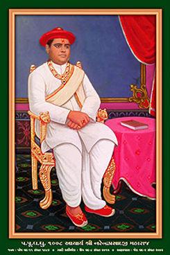 H.H.1008 Acharya Shree Narendraprasadji Maharaj