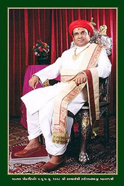 H.H.1008 Acharya Shree Rakeshprasadji Maharajshree