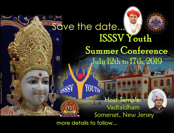 ISSSV YOUTH Summer Conference - 2019
