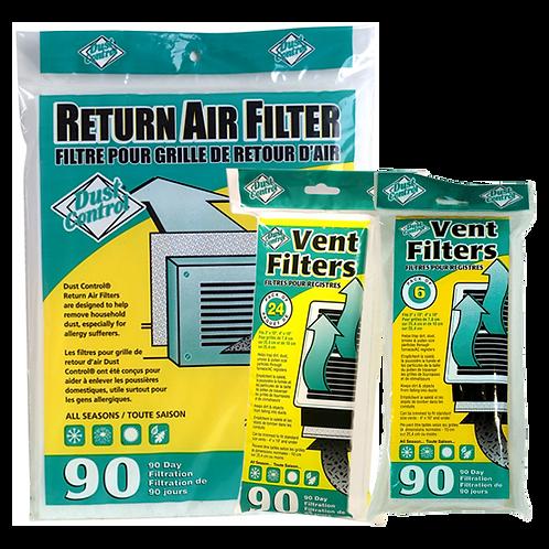 Vent Filters/Return Air Filters