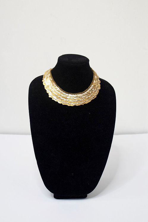 SCALES CHOCKER GOLD/SILVER