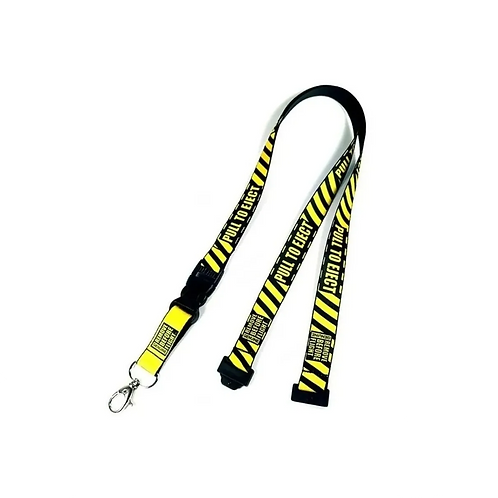 Lanyard Pull to Eject Remove Before Flight