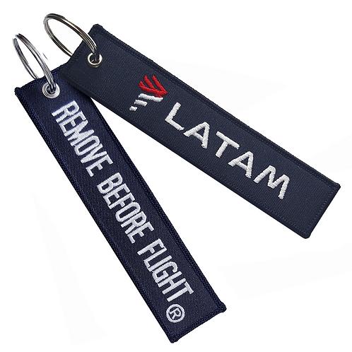Llavero Latam Remove Before Flight