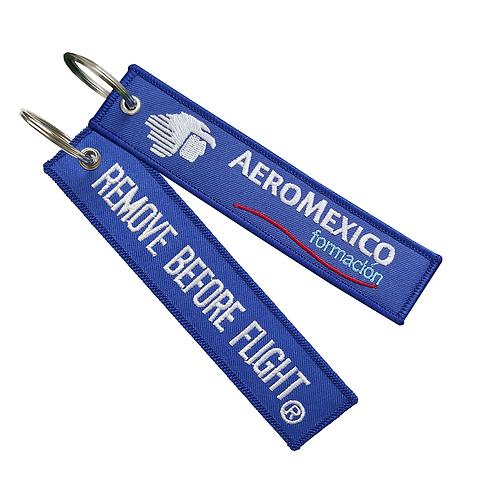 Llavero Aeromexico Formación Remove Before Flight