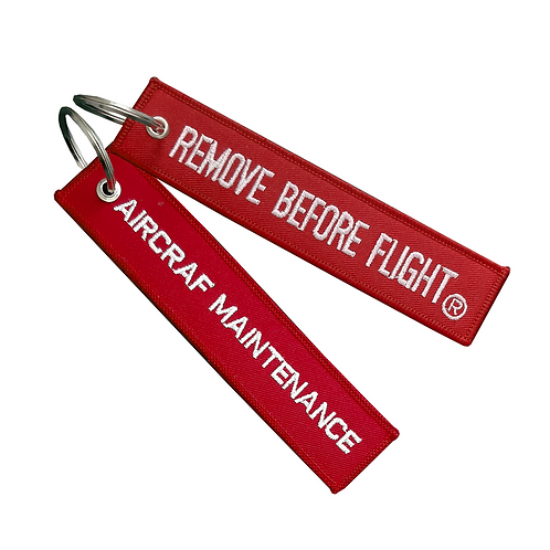 Llavero Manintenance Remove Before Flight