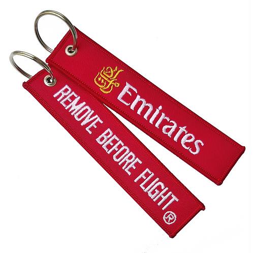 Llavero Emirates Remove Before Flight
