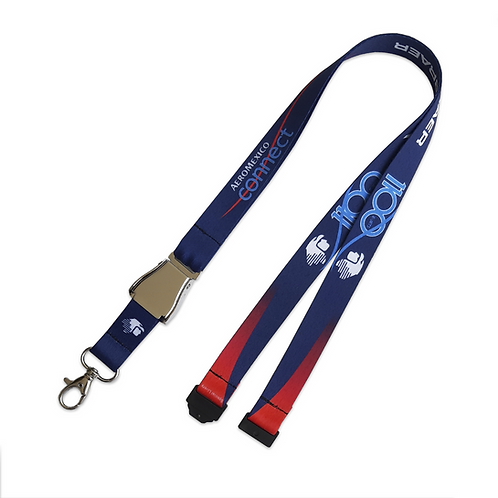 Lanyard Aeromexico Connect 1100 E-Jets  LIFT BUCKLE Remove Before Flight