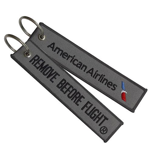 Llavero American Airlines Remove Before Flight