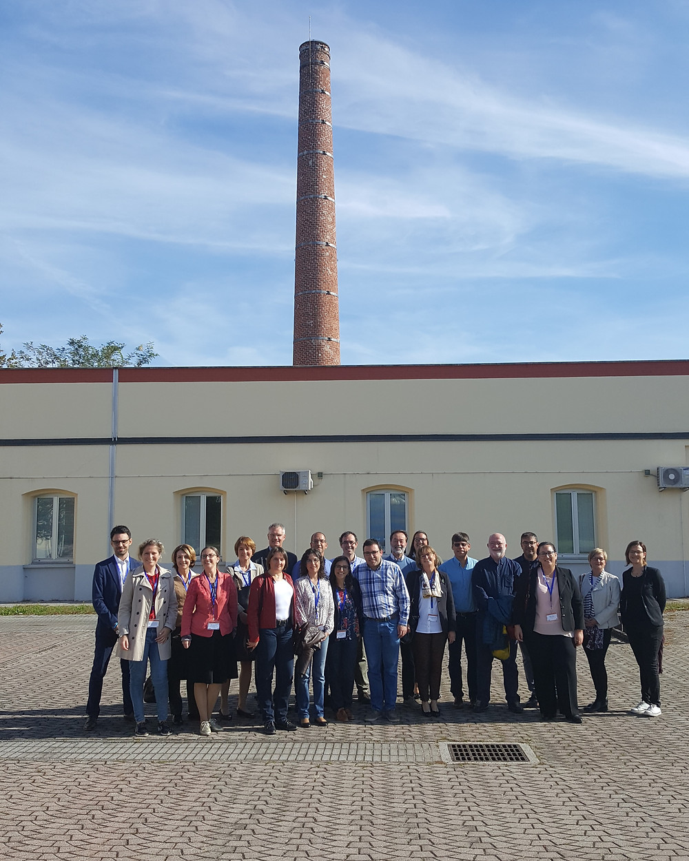 Supervisors at kick-off meeting in Udine, October 2017