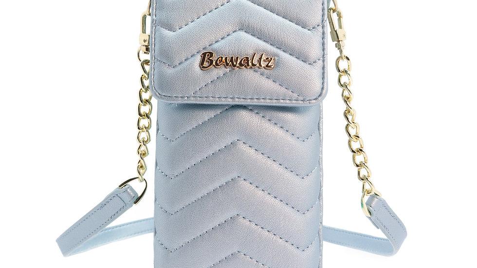 Mila Mini Crossbody Phone Wallet - Blue