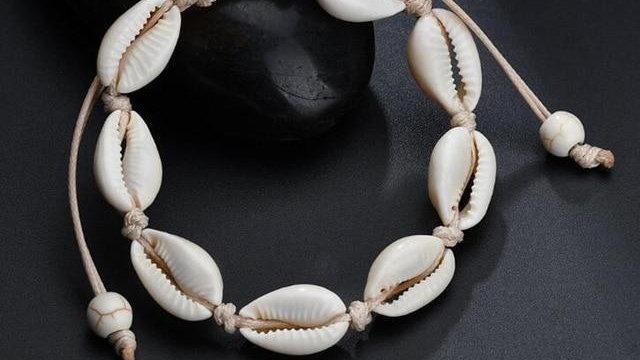Bohemian Sea Shell Anklet Bracelet