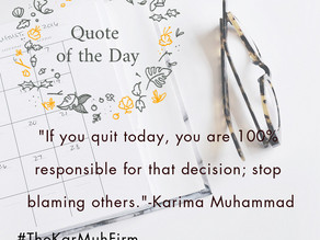 If you quit today....