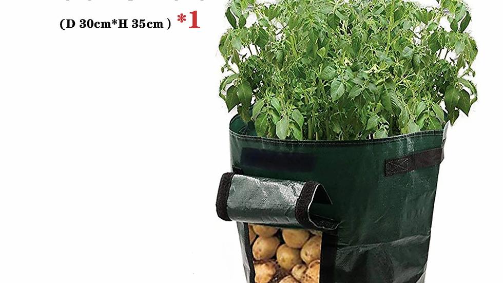 Potato Grow Container Bag DIY Planter PE Cloth Planting Vegetable Gardening
