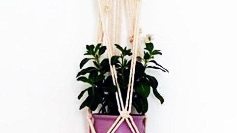 Vintage -Inspired Macrame Plant Hanger