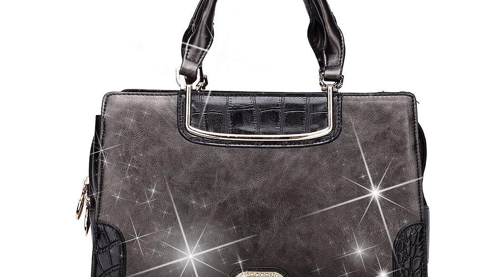 Florencia Tote Handbag With Multiple Pockets