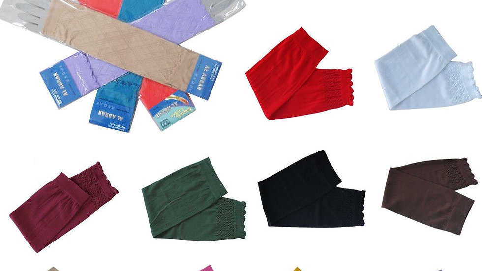 Stretchy Fabric Sleeves