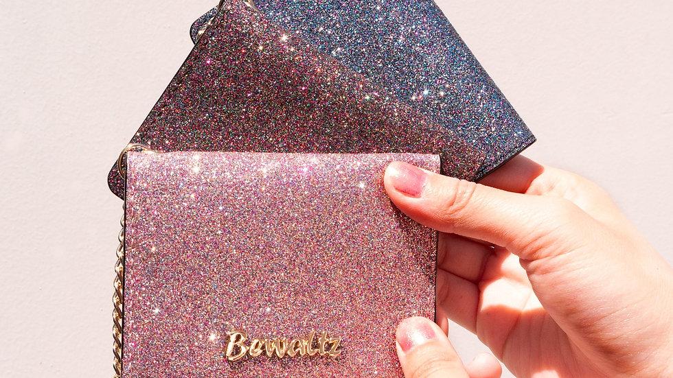 Mia Glitter Keychain Wallets