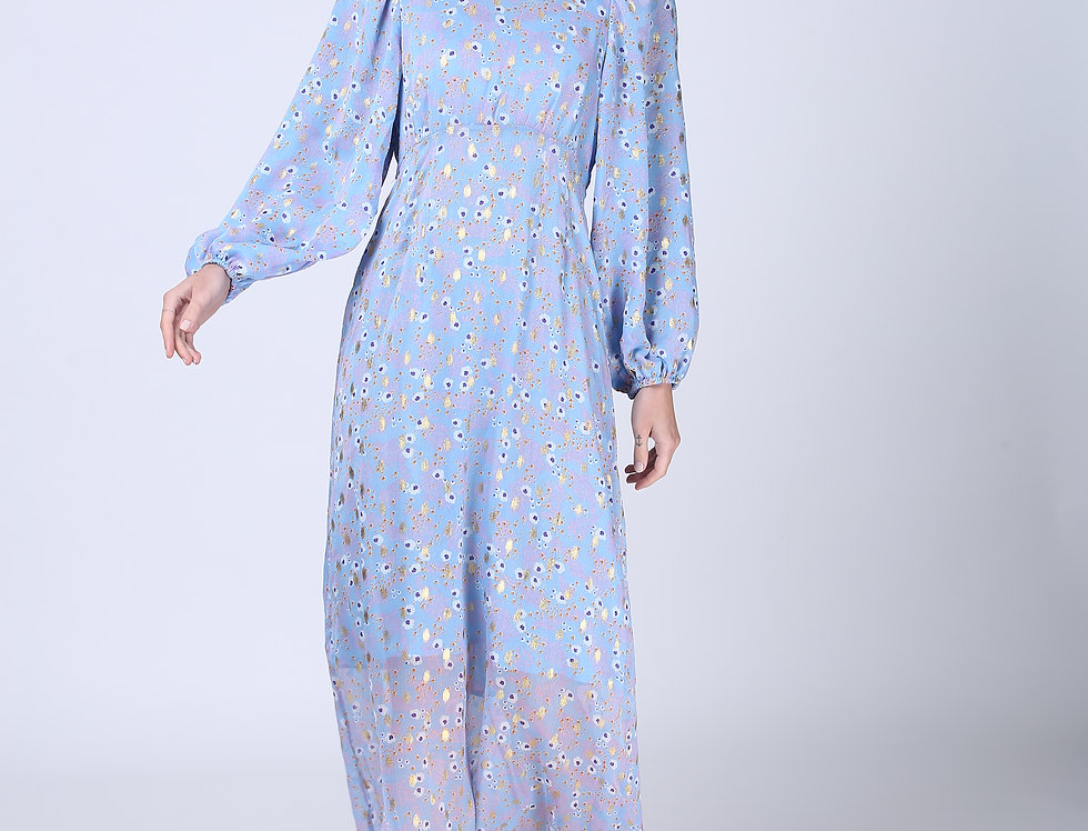 Diana Dress - Light Blue