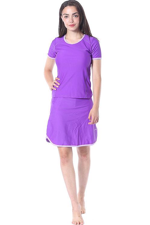 Modest Swimwear- Sporty Model Purple
