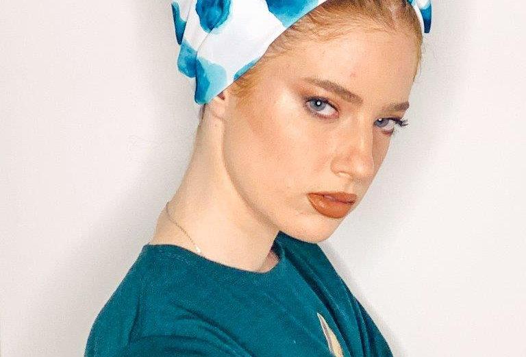 Partial/Full Printed Turban - Green White