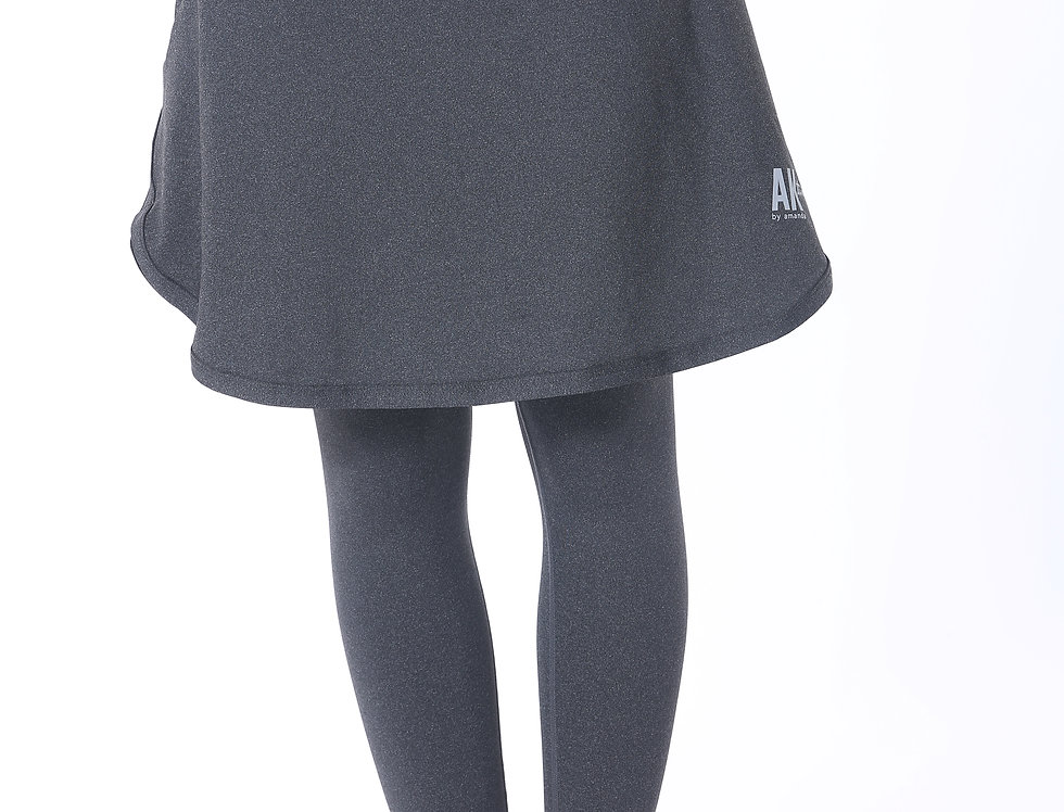 Short Sports Skirt - Grey