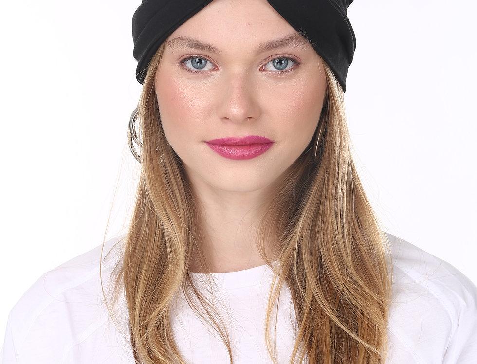 Thin Turban - Basic Black