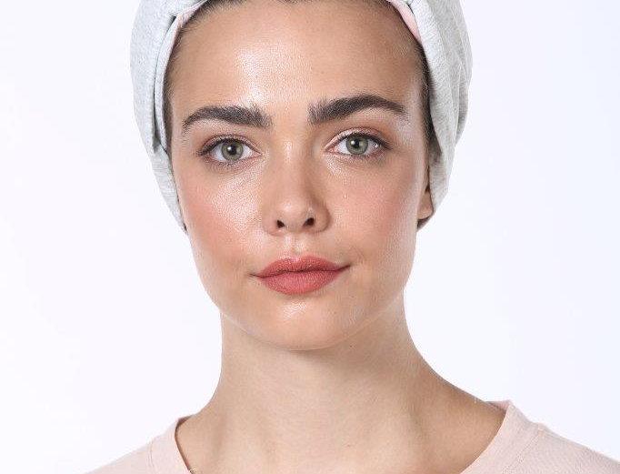 Knot Turban - Basic Cotton Light Grey