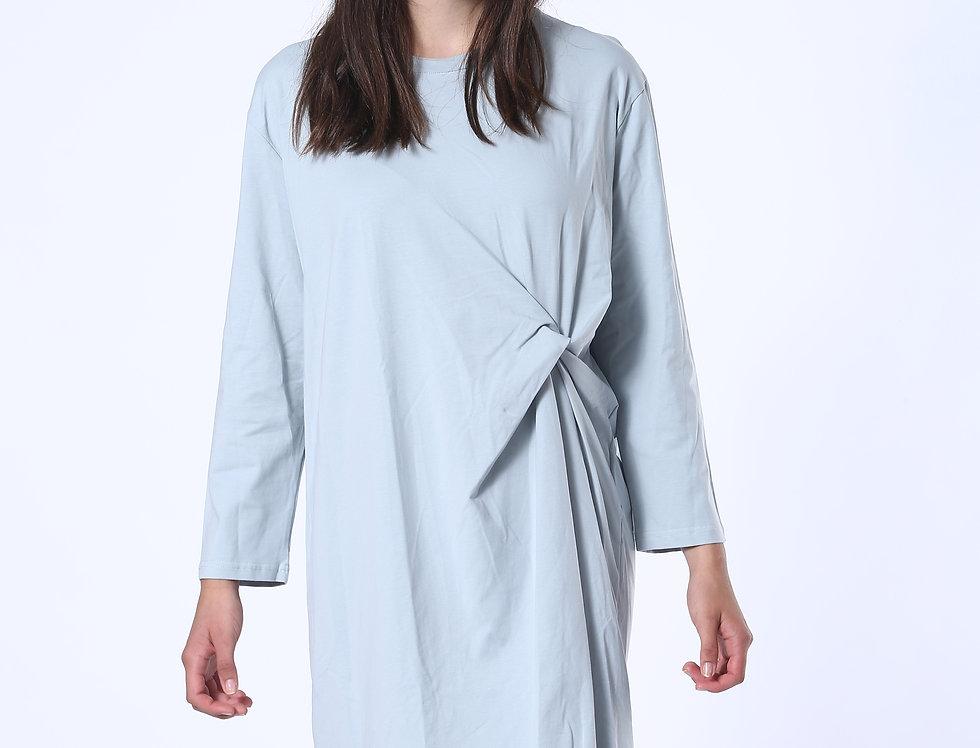 T-shirt Dress - Light Blue