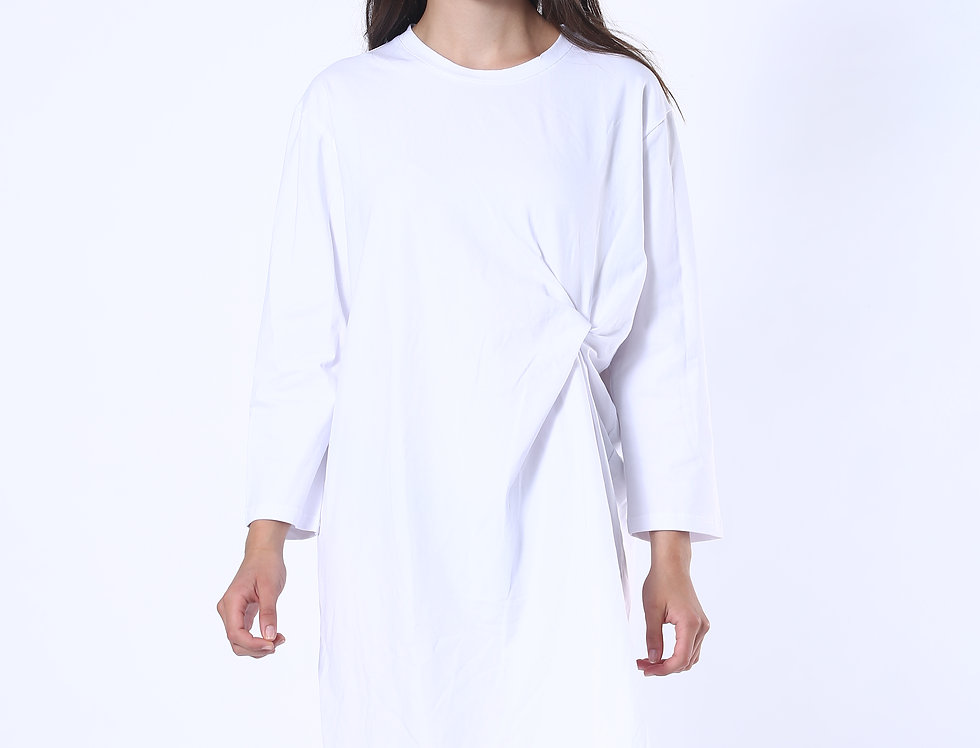 T-shirt Dress - White