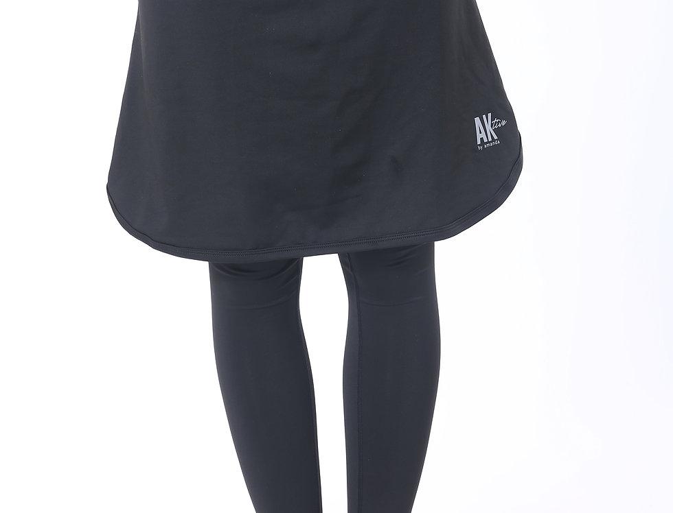 Short Sports Skirt - Black