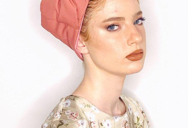 Partial/Full Bow Headband - Pink