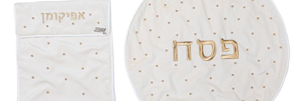 Matza Cover Set - White
