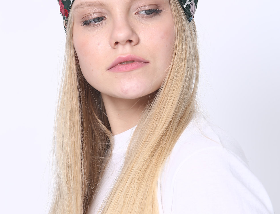 Thin Bow Headband - Printed