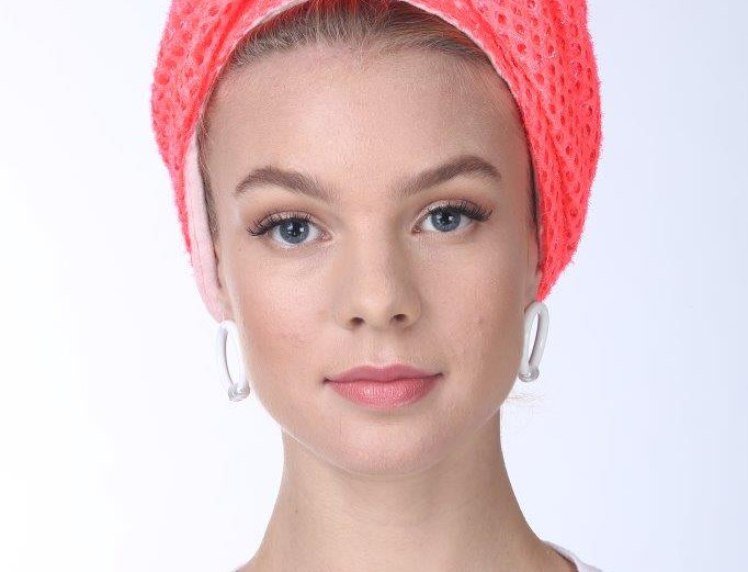 Partial/Full Volumized Turban - Punched Coral