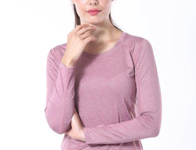 Long Sports Shirt - Pink