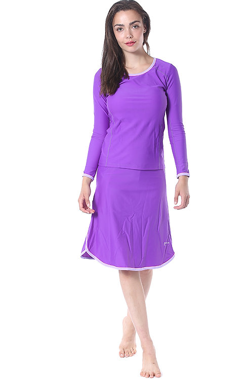 Modest Swimwear- Sporty Model - Purple