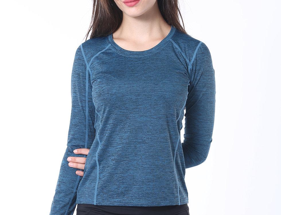Long Sports Shirt - Blue