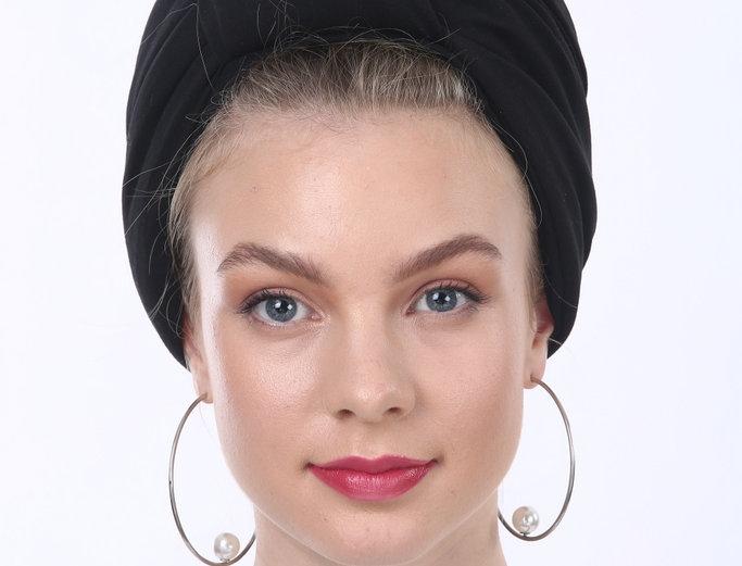 Partial/Full Volumized Turban - Basic Black