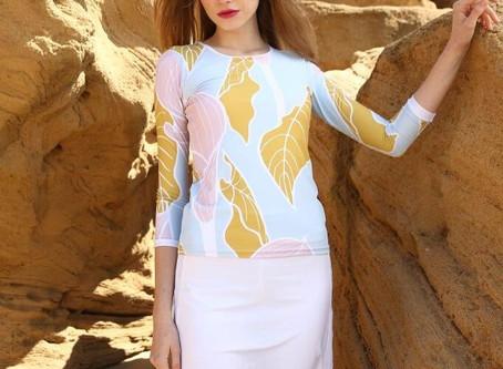Modest Dressing for the beach