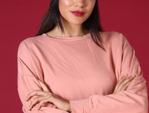 Star sweater - coral