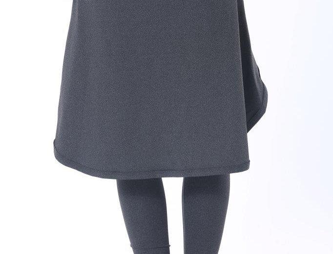 Long Sports Skirt - Grey