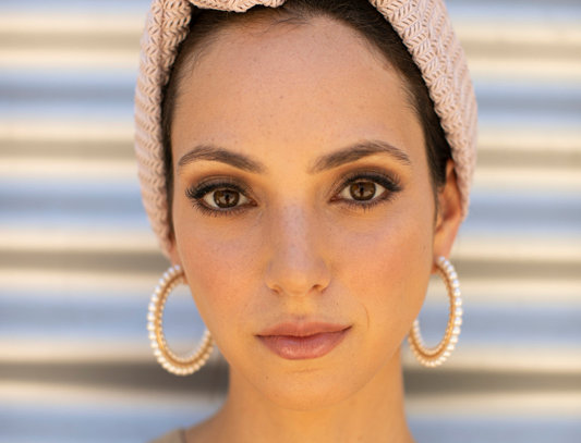 Knot Turban - Knitted Beige