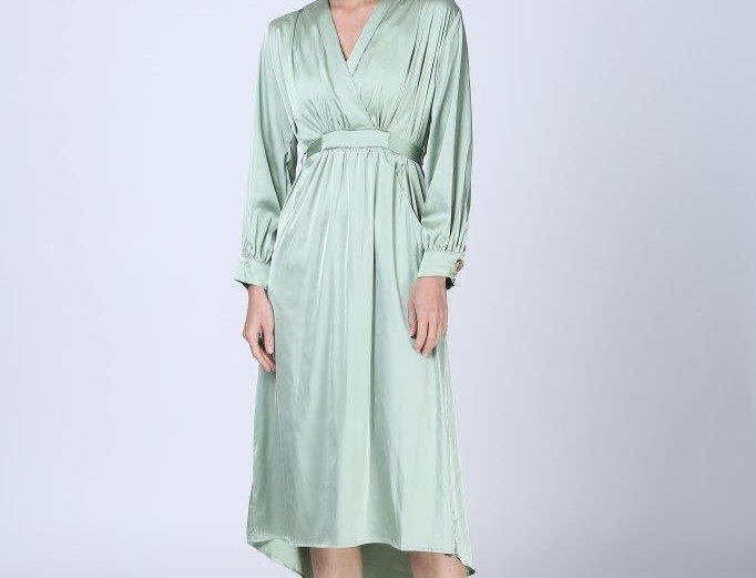 Silky Dress - Mint