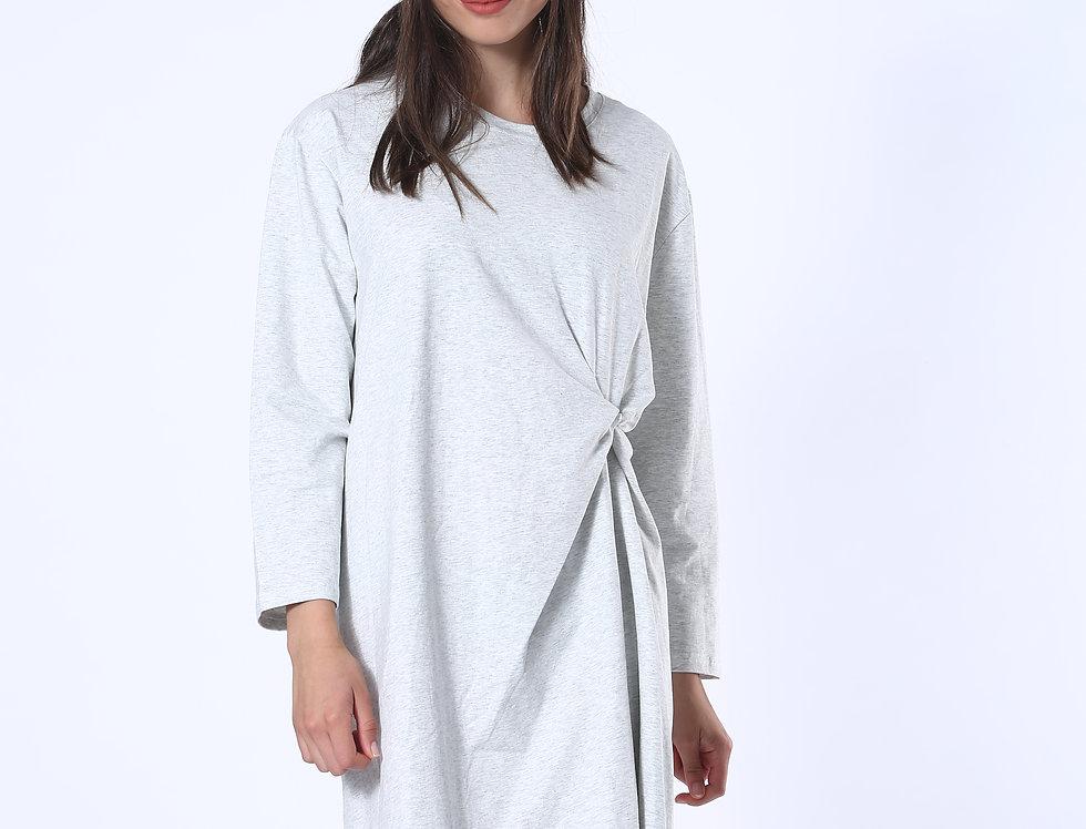 T-shirt Dress - Grey